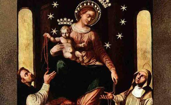 La recita della supplica alla Madonna
