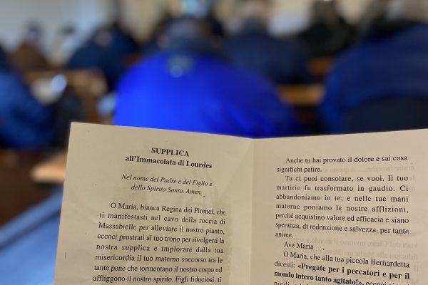 ":/"" Supplica all'Immacolata di Lourdes"