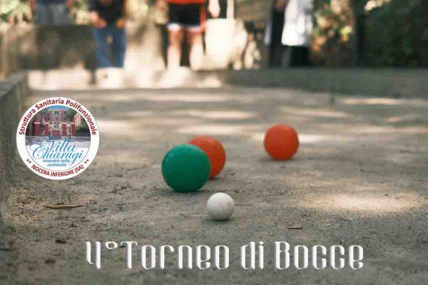 VILLA CHIARUGI/4° TORNEO DI BOCCE